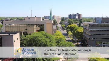 How Much Professional Monitoring is There of CPAs in Ontario monitoringcpaontario